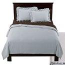 【送料無料】Shabby Chic シャビーシック Blue Linen Duvet Set ブルーリネン ドゥべ 布団カバー&枕カバー セット Twin Size ツインサイズ(シングル)
