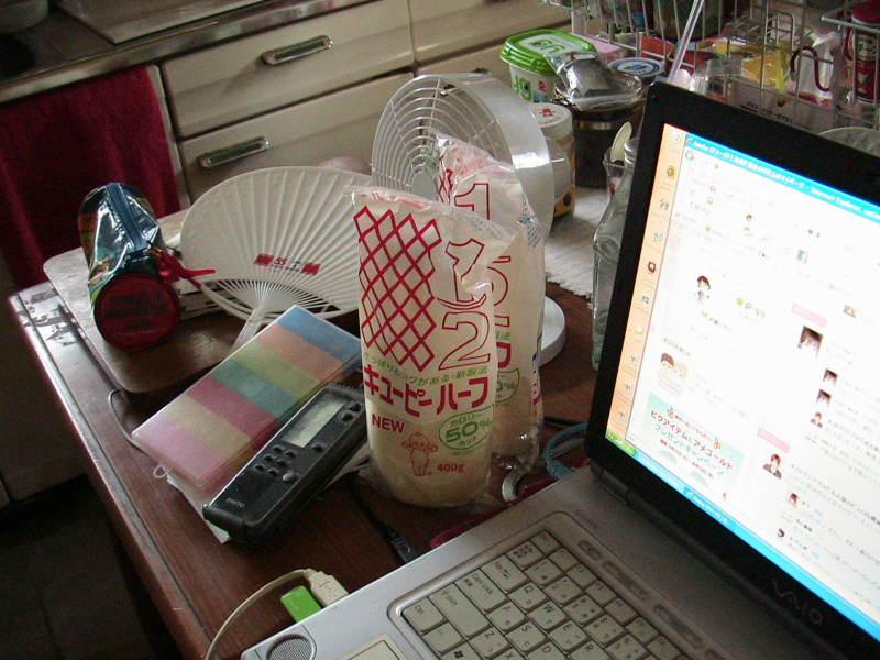 おまけ道@琵琶湖畔で実家生活♪ポテチンっ♪-20120729
