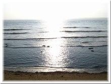 毎日はっぴぃ気分☆-朝の海