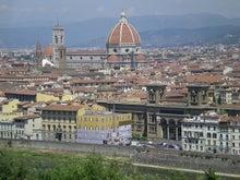 夫婦世界旅行-妻編-フィレンツェの街