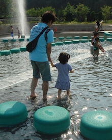 ☆國家のRS奮闘記☆-水遊び