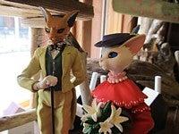 $雑貨屋さん*AJUKAJU*物語に出てくるような雑貨屋さんへの道(大阪・堺市)-耳をすませば。バロンとルイーゼの再会