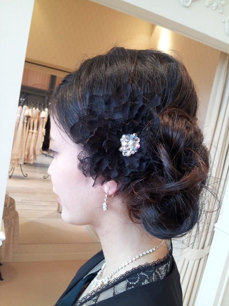 結婚式 お呼ばれ 髪型 マナー