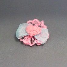 モルモットのコサージュ(ピンクハート)