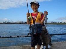$へらへらの釣りブログ-チヌ1匹目47cm1.4kg