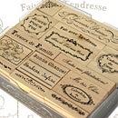 【BOX入り】フランスフレーズスタンプセット