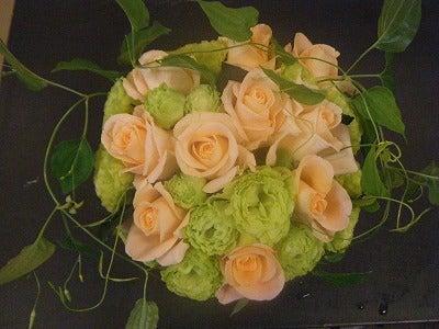 呼吸する様に花を仕入れ、取り合わせる。 花禅-1208061
