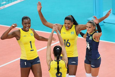 バレーボールブラジル女子代表 - Brazil women's national volleyball team