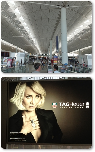 $きょんのたわごと-香港空港
