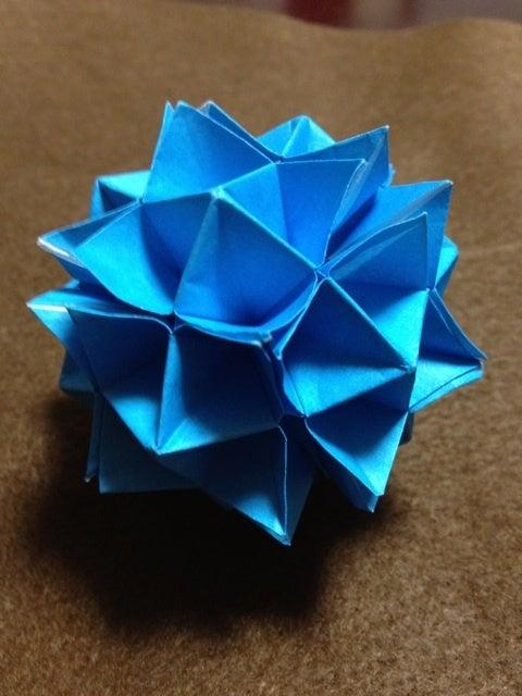 ハート 折り紙 : 折り紙で作るくす玉 : divulgando.net