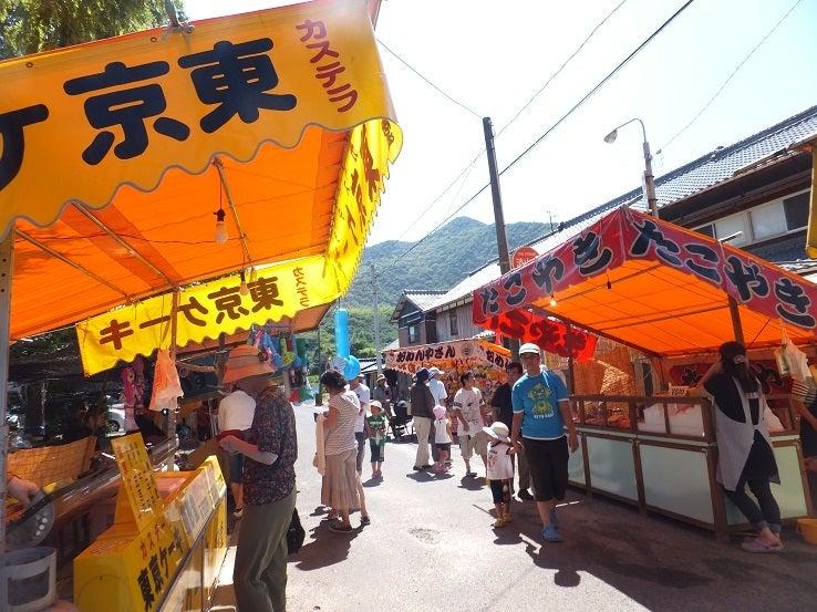 ヤマネの徒然ブログ-屋台 津嶋神社夏祭り