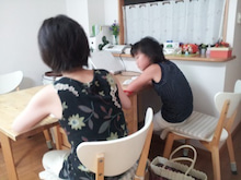 ベビーマッサージ資格取得スクール&ベビー教室 @静岡  『ヒーリングサロンMei 』