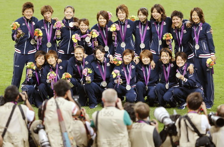 ロンドンオリンピック なでしこジャパン