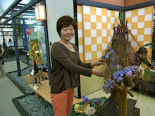 $【クオリア】ミチコの ~うるおいのお花ライフ~-フロリアード デモンストレーション