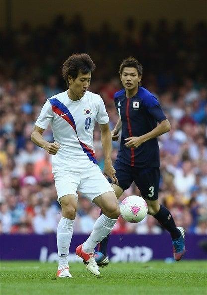 サッカー日本代表 ロンドンオリンピック 3位決定戦 韓国 日韓戦