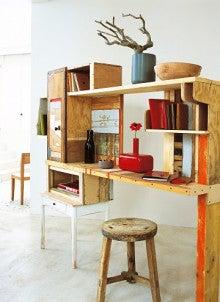 ボックスや家具を重ねた楽しい♪DIYファニチャー