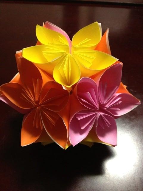クリスマス 折り紙 折り紙で作る花 : ameblo.jp
