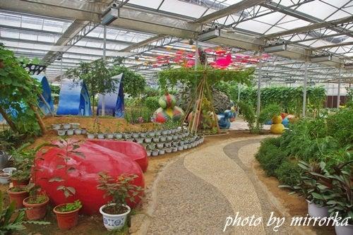 中国大連生活・観光旅行ニュース**-旅順 大連新希望太空植物博覧園