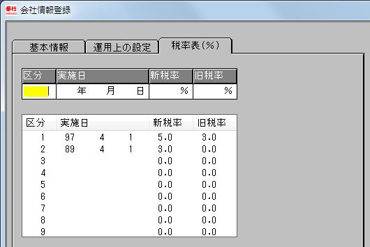 依田会計IT室長によるOBC奉行活用術-税率設定 21