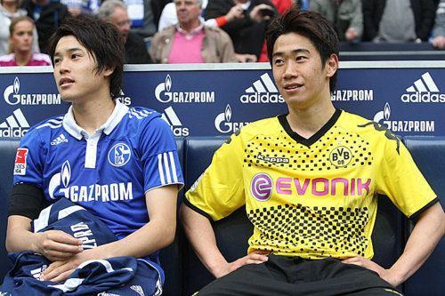 サッカー日本代表 シャルケ ドルトムント ルールダービー