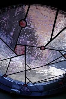オッシャンのブログ-桜のステンドグラス