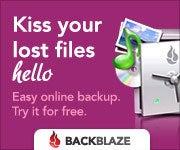 クラウドを使いこなせ!-Backblaze Kiss Files