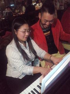 ふじいあきらさん piano