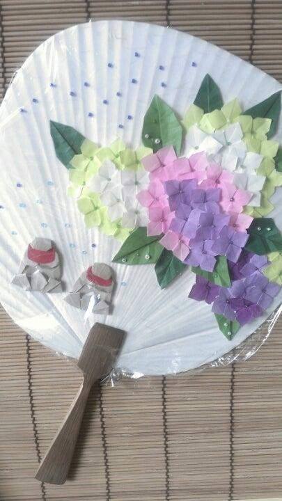 すべての折り紙 あじさい 折り紙 簡単 : 6月の折り紙作品 紫陽花 ...