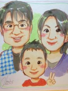 主婦に役立つママ社労士の備忘録-家族の似顔絵