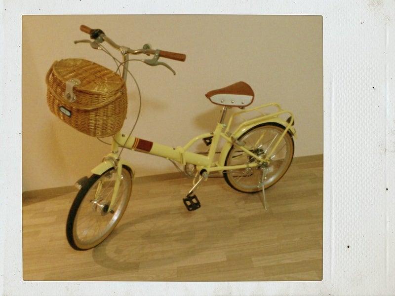 自転車の 自転車 可愛い 折りたたみ : 折りたたみ自転車×basilの ...