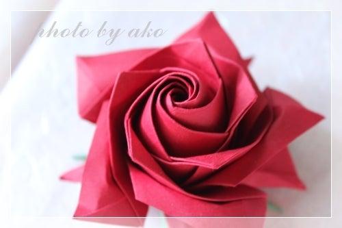 すべての折り紙 バラ作り方 折り紙 : ... 咲きタイプのバラ|折り紙作品