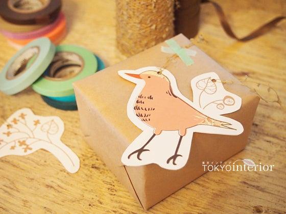 [無料ダウンロード] 北欧カラーのかわいい小鳥さんタグ