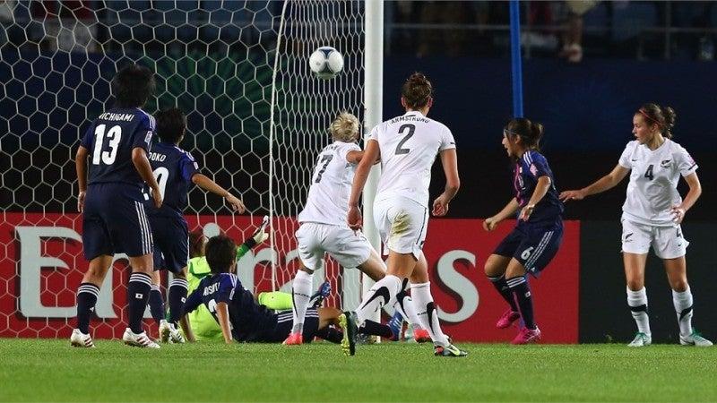 サッカー日本代表 U-20女子ワールドカップ ヤングなでしこ ニュージーランド代表 仲田歩夢