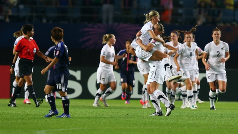 サッカー日本代表 U-20女子ワールドカップ ヤングなでしこ ニュージーランド代表