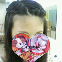 花かんむりヘア
