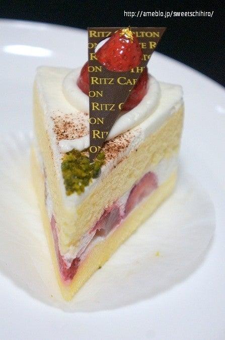 大阪スイーツレポーターちひろの辛口スイーツランキング-リッツカールトン大阪 ショートケーキ