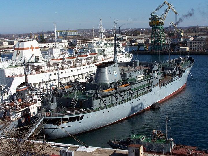 """【黒海艦隊】 修理船 """"PM-56"""""""