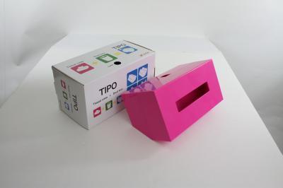 $はなまるマーケットで紹介されたゴミ箱付きティッシュケース:ティポ