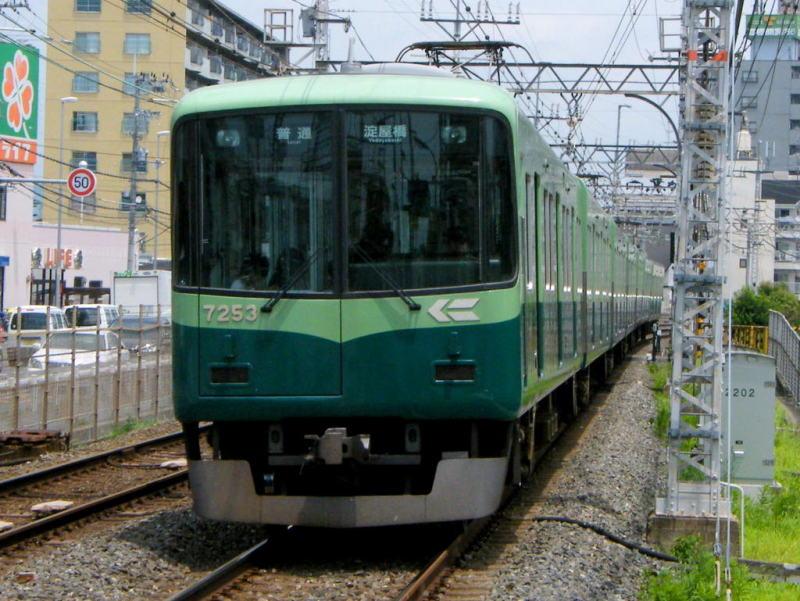 京阪7200系旧塗色