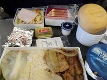31歳からのスイーツ道#-SQ943便昼機内食