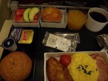 31歳からのスイーツ道#-SQ672便朝機内食