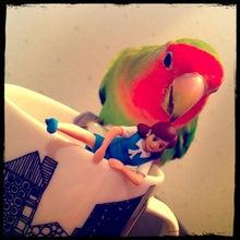 奇譚クラブblog-無題 インコとフチ子