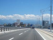 とやま定住コンシェルジュ 3代目のブログ-富山大橋を通過中