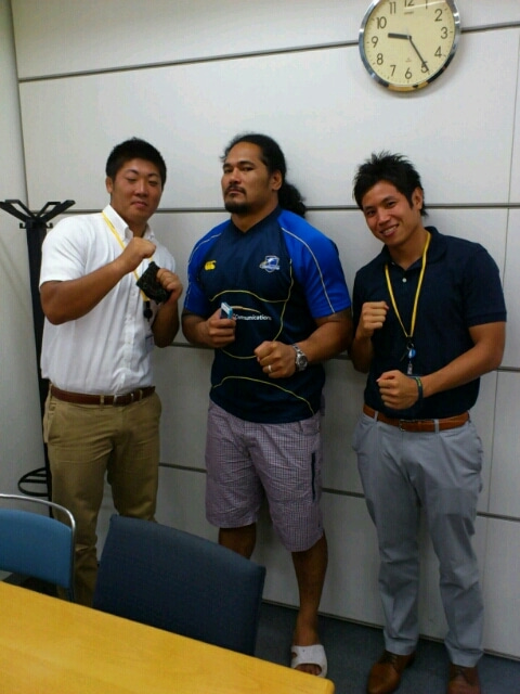 SHIMOYAMA大陸  8.31 Top league2012開幕 in秩父宮