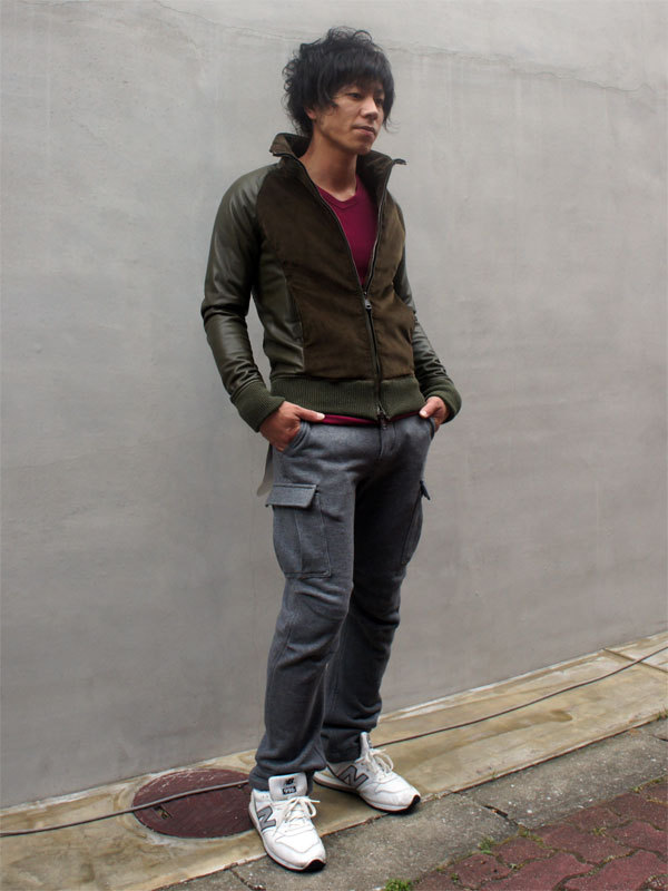 AKM 2012AW lamb/corduroy stand track !|AKM??? official blog