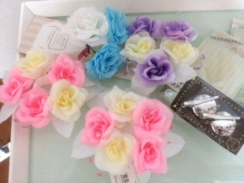 折り紙の 折り紙の花 : 100均造花も、まとめて飾れば ...