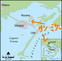 夫婦世界旅行-妻編-ヴェネツィア地図