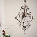 ※即日発送【SHERRY:シェリー】【DANTE CHANDELIER COLLECTION】アンティーク調プチシャンデリア|ペンダントライト|インテリア照明|サブ照明|玄関照明|輸入シャンデリア|JBFR-141/1|ダイニング|廊下|トイレ【10P_0802】