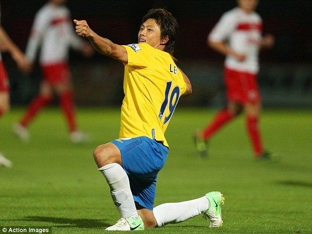 サッカー日本代表 プレミアリーグ 李忠成 サウサンプトン ゴール