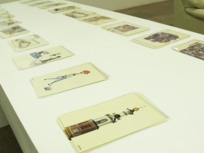 日々と人々展postcard